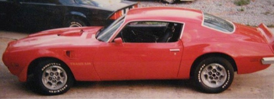 He purchased a 1973 Trans Am